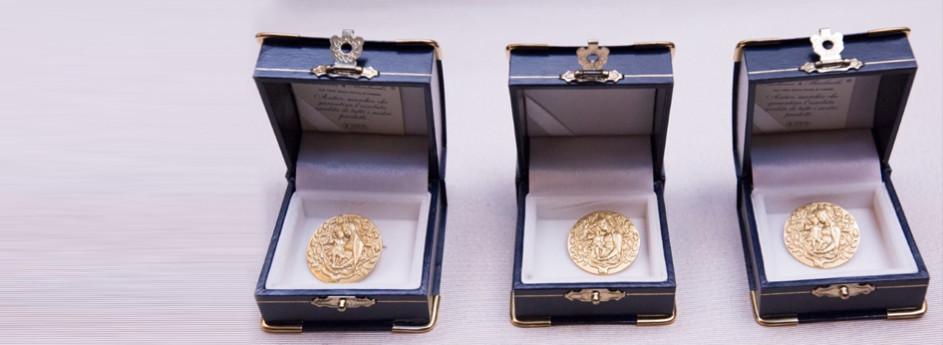 Consegna delle medaglie anno 2017