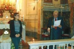 Fotografie della consegna delle medaglie e borsa di studio