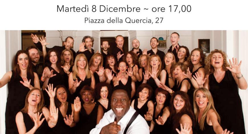 Natale in Confraternita, Concerto gospel con maxischermo