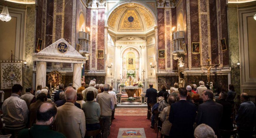 Riapertura della Chiesa di Santa Maria della Quercia