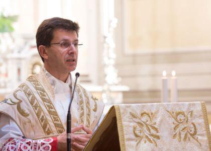 Una medaglia ricordo per l'Arcivescovo Mons. Fabio Dal Cin
