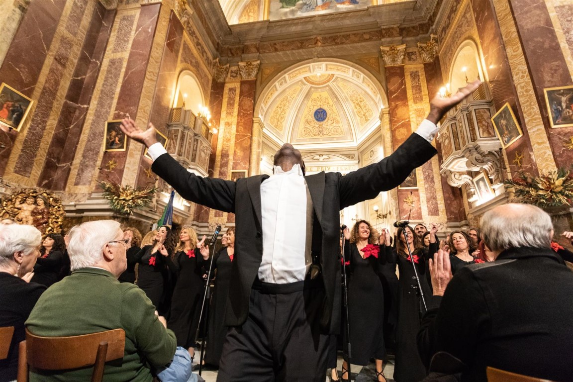Concerto dell'8 dicembre 2019 – The Amazing Gospel Choir diretto dal maestro Timothy Martin