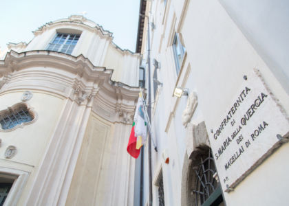 La Confraternita di Santa Maria della Quercia dei Macellai di Roma sospende tutti gli eventi