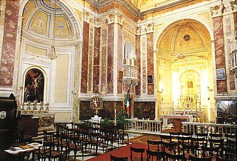 """Domenica 3 maggio 2015 presso la Chiesadi Santa Maria della Quercia a Roma, consegna dello """"Statuto dell'Antico Sodalizio"""""""