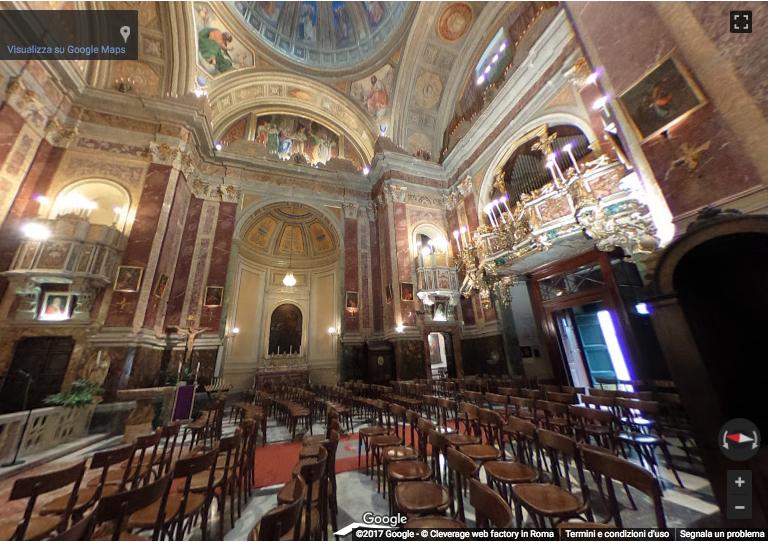 Online il Virtual Tour della Chiesa di S. Maria della Quercia